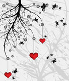 arbre d'amour Photo stock