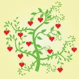 Arbre d'amour illustration libre de droits