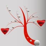Arbre d'amour Images libres de droits