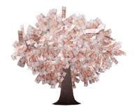 Arbre d'argent illustration de vecteur