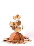 Arbre d'argent Photographie stock libre de droits