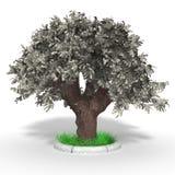 arbre d'argent Photos libres de droits