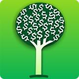 arbre d'argent d'illustration Photographie stock