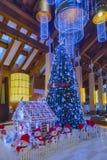 arbre d'illustration de décorations de Noël 3d Photographie stock libre de droits