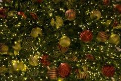 Arbre d'ornement de Noël images stock