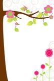 Arbre dans la fleur Images libres de droits