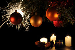 arbre de bâton de Noël Image stock