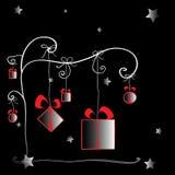 Arbre de cadeau Image stock