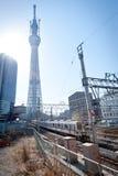 Arbre de ciel de Tokyo Image libre de droits