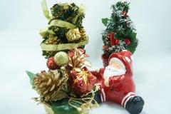 arbre de Claus Santa de Noël Photos libres de droits