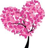Arbre de coeur Image libre de droits