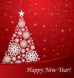 arbre de conception de Noël Images stock
