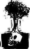 Arbre de crâne Images libres de droits