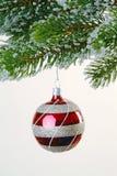arbre de décoration de Noël Photos stock