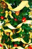 arbre de décoration de Noël photos libres de droits