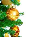 arbre de décoration de Noël Photo libre de droits