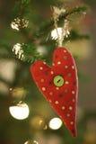 arbre de décoration de Noël Images stock