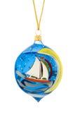 arbre de décorations de Noël Photo stock