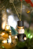 arbre de décorations de Noël Image stock