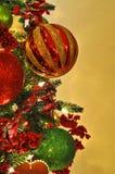 arbre de décorations de Noël Photographie stock libre de droits