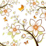 Arbre de fleur illustration libre de droits