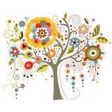 Arbre de floraison illustration libre de droits