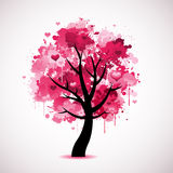 Arbre de l'amour illustration libre de droits