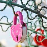Arbre de l'amour Photographie stock