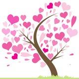 Arbre de l'amour Image stock