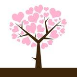 Arbre de l'amour Image libre de droits