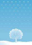 Arbre de l'hiver Illustration Libre de Droits