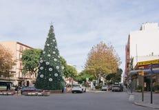 Arbre de Noël à Eivissa Images libres de droits