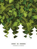 Arbre de Noël à feuilles persistantes d'arbre de Noël de vecteur Photos stock
