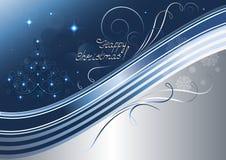 Arbre de Noël à jour et étoiles lumineuses Photo stock