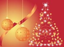 Arbre de Noël Photographie stock libre de droits
