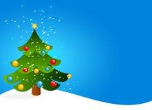 Arbre de Noël illustration de vecteur