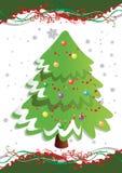 Arbre de Noël. Photo stock