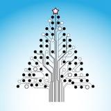 Arbre de Noël. illustration libre de droits