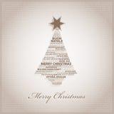 Arbre de Noël Images libres de droits