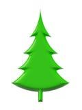 arbre de Noël 3d Photos libres de droits