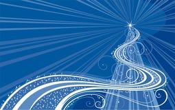Arbre de Noël abstrait illustration de vecteur