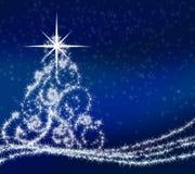 Arbre de Noël abstrait Photos stock