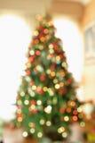 Arbre de Noël abstrait images stock