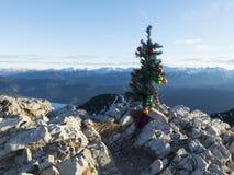 Arbre de Noël artificiel Photo stock