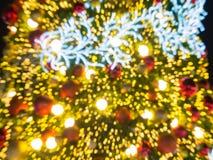 Arbre de Noël artificiel de pin Photos libres de droits