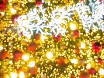 Arbre de Noël artificiel de pin Photos stock