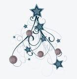 Arbre de Noël artistique Photo libre de droits