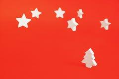 Arbre de Noël blanc 4 Image libre de droits