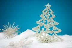 Arbre de Noël blanc Image stock