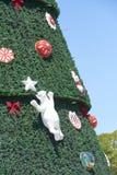 Arbre de Noël chez Ibirapuera dans la ville de Sao Paulo Image libre de droits
